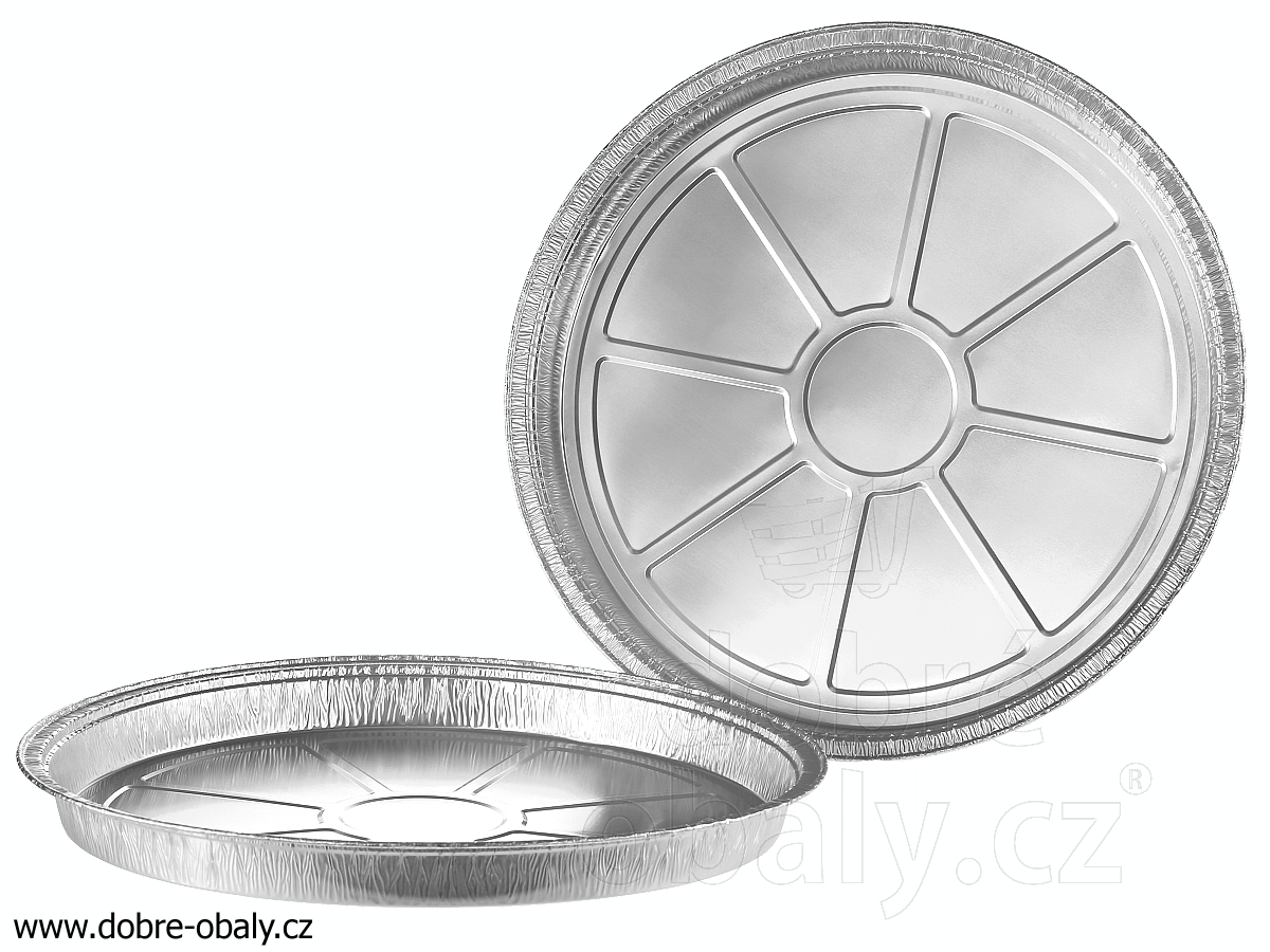 ALU talíř 1170 ml, 277 x 23 mm C5-32G