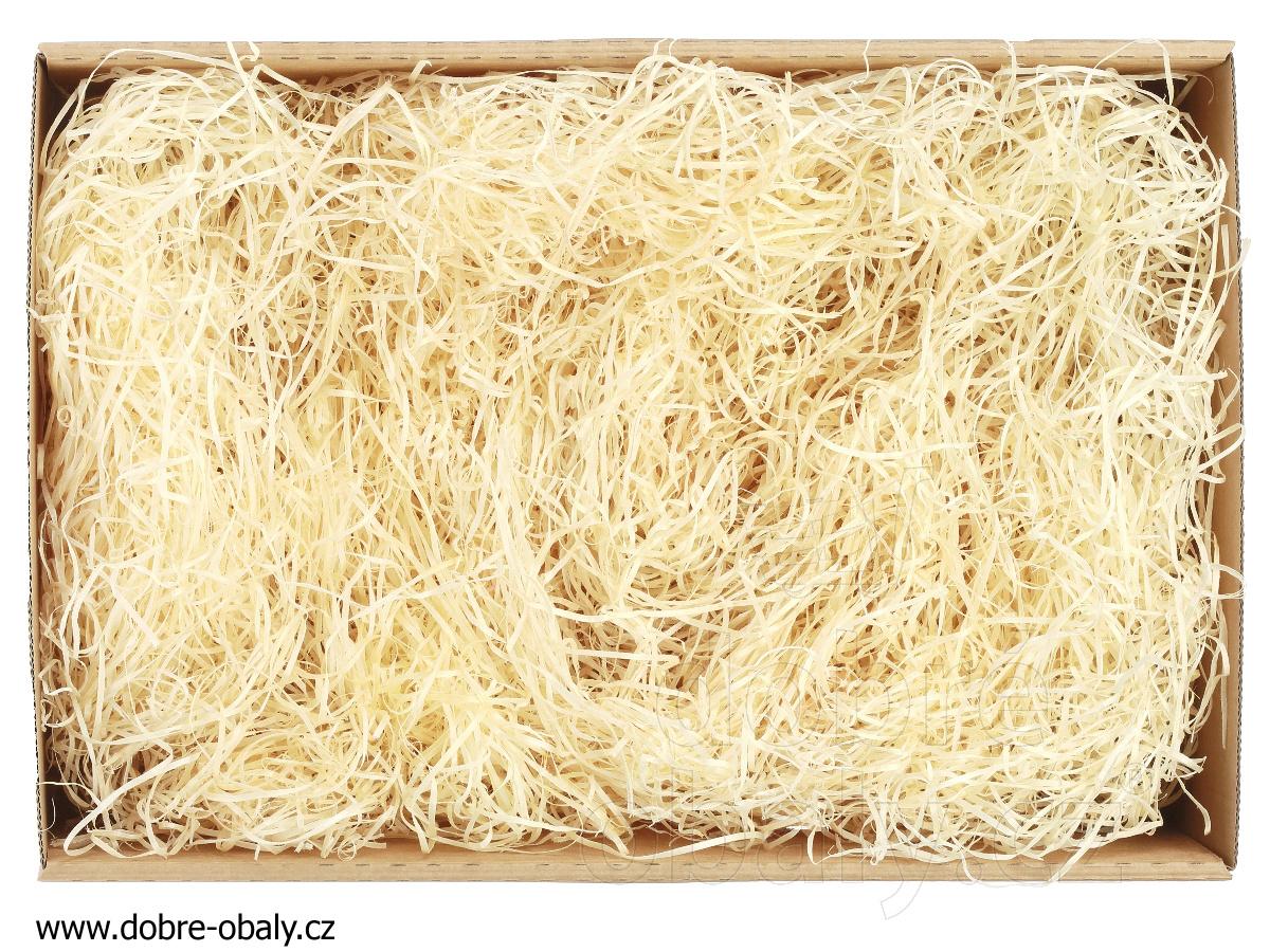 1c69de93b Dřevitá vlna JEMNÁ - výplň do dárkových krabiček, pytel | Dobré obaly