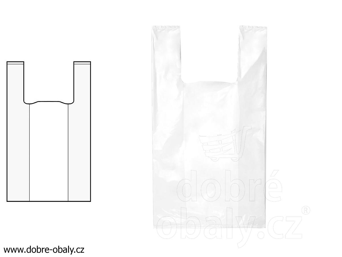 4bf2e66d01 Igelitové tašky 5 kg bílé pevné LDPE
